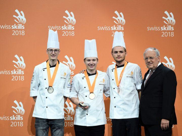Martin Amstutz est le meilleur jeune cuisinier de Suisse!