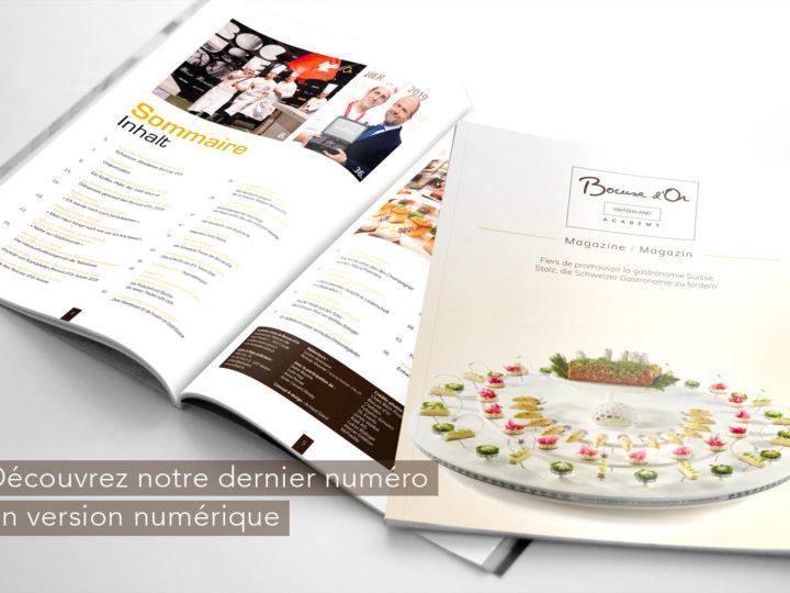Magazine Académie Suisse Bocuse d'Or