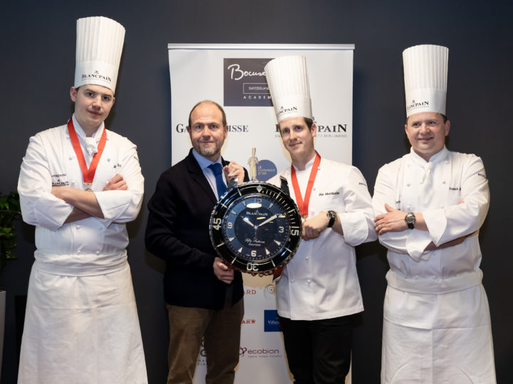 Ale Mordasini remporte la Sélection suisse Bocuse d'Or